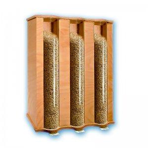 Bild zu KoMo Getreidespeicher - Getreidesilo für 3 x 4,5kg