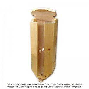 Bild 1 zu Artikel Getreidesilo aus Zirbenholz für 3 x 5kg