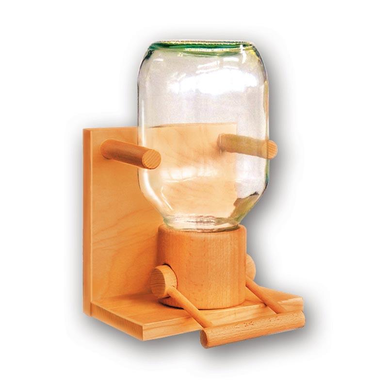 Bild zu Getreidespeicher Holz/Glas für 1,9kg