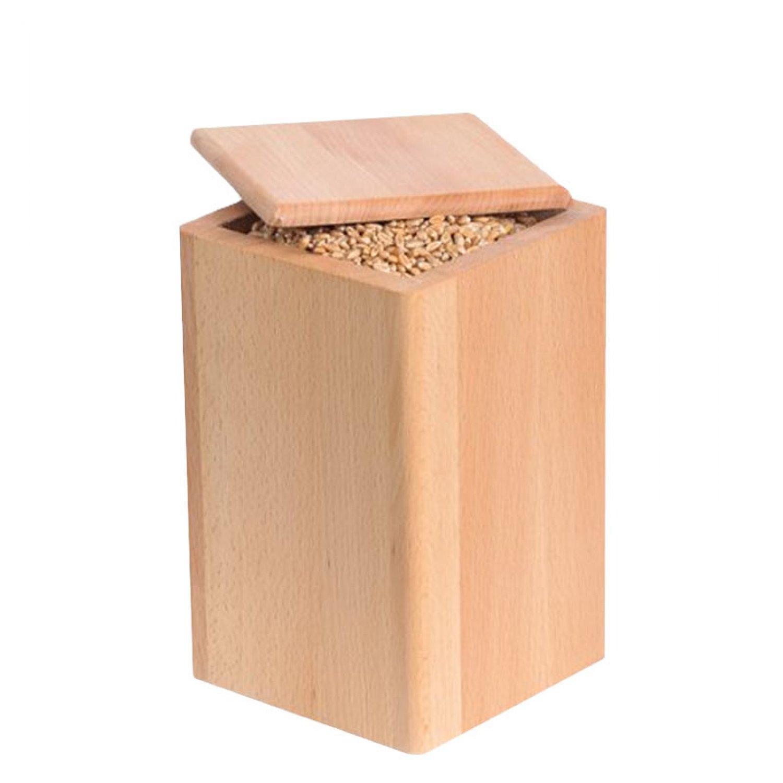Bild zu Holzdose in Buche für 1,0kg