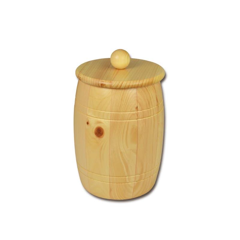 Bild zu Holzfass - Holzdose aus Zirbenholz für 2,0kg