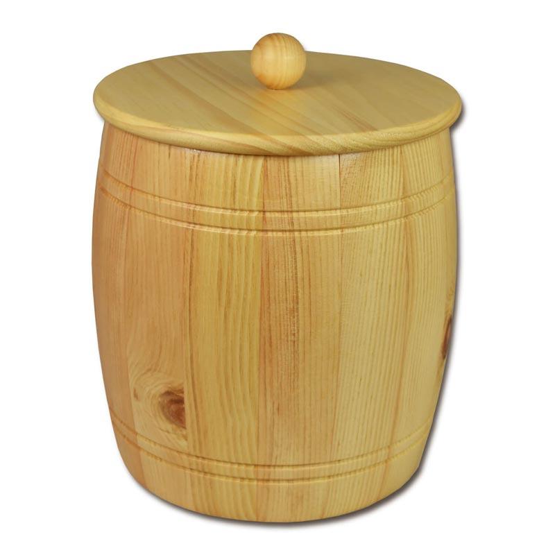 Bild zu Holzfass - Holzdose aus Zirbenholz für 5,0kg