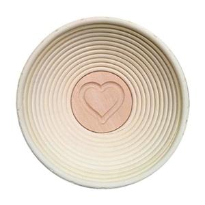 Bild 1 zu Artikel Gärkörbchen rund, Motiv HERZ für 500g-Brot