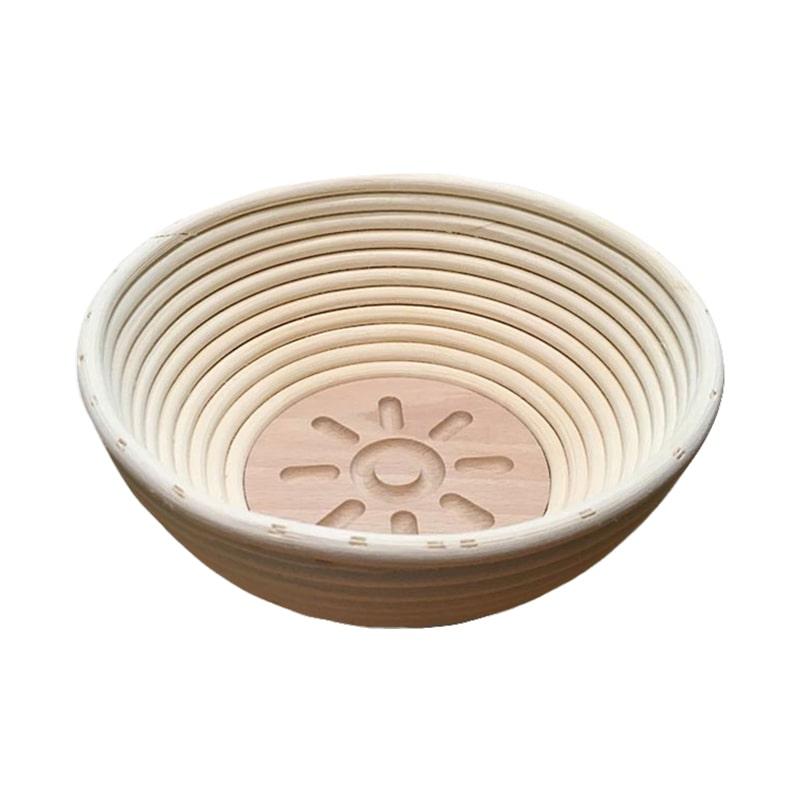 Bild zu Gärkörbchen rund, Motiv SONNE für 500g-Brot